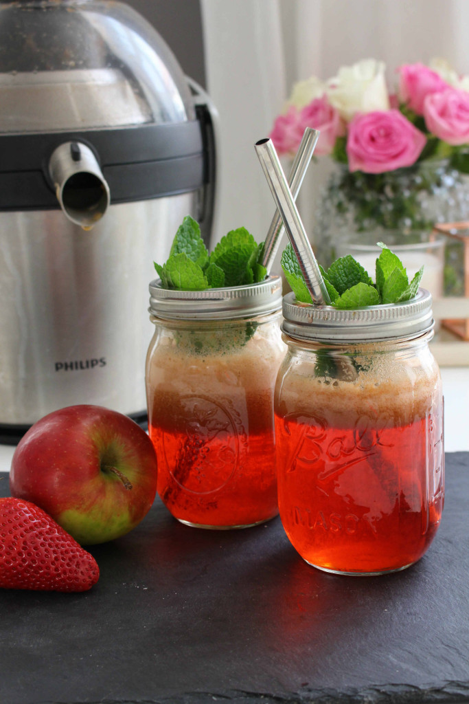 Strawberry Basil Juice