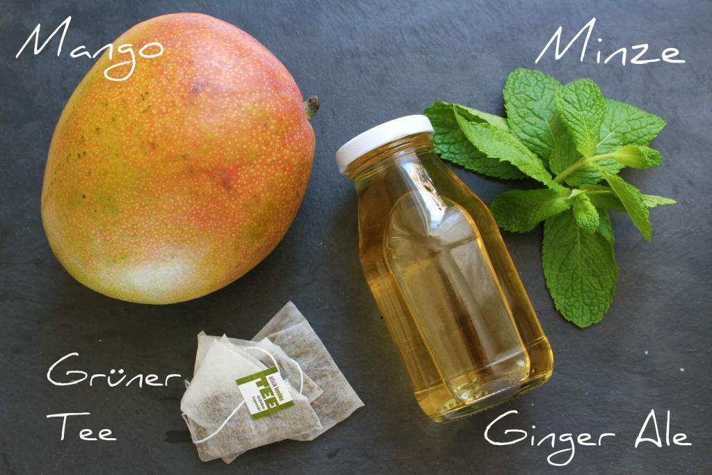 Grüntee Mango Mojito