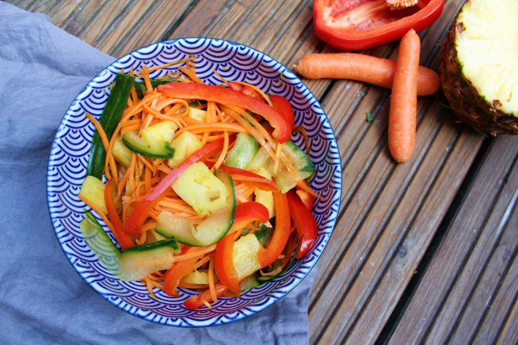 Thai Salat warm