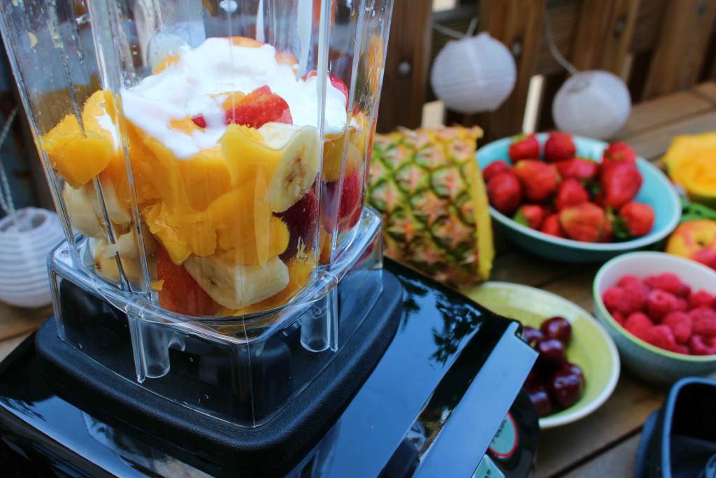 Nektarinen Mango Joghurt