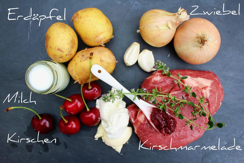 Steak Kirschsoße Zutaten