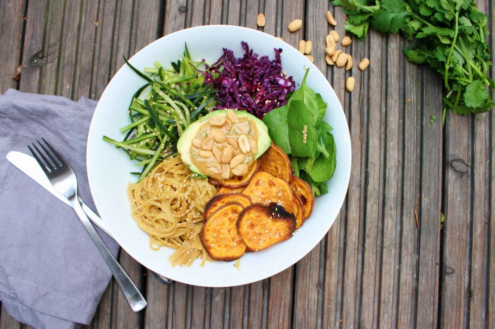 veganer Lunch Bowl aka. Resteessen