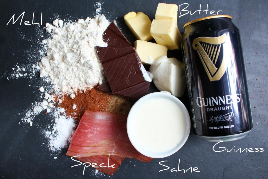 Guinness Cupcakes Zutaten