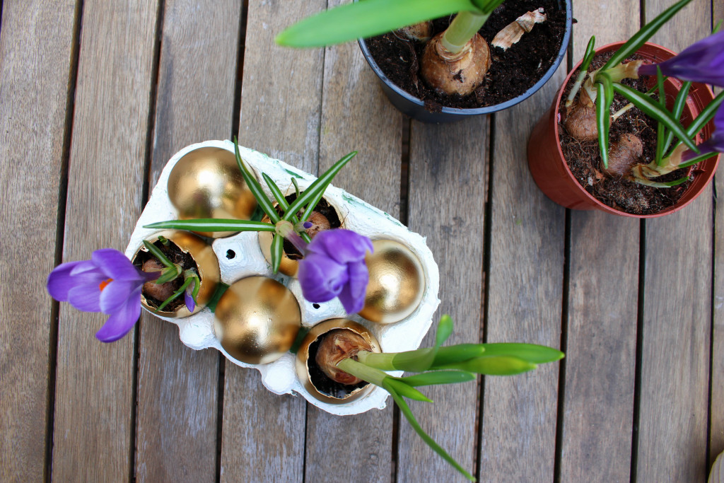 Goldene Eier Ostern