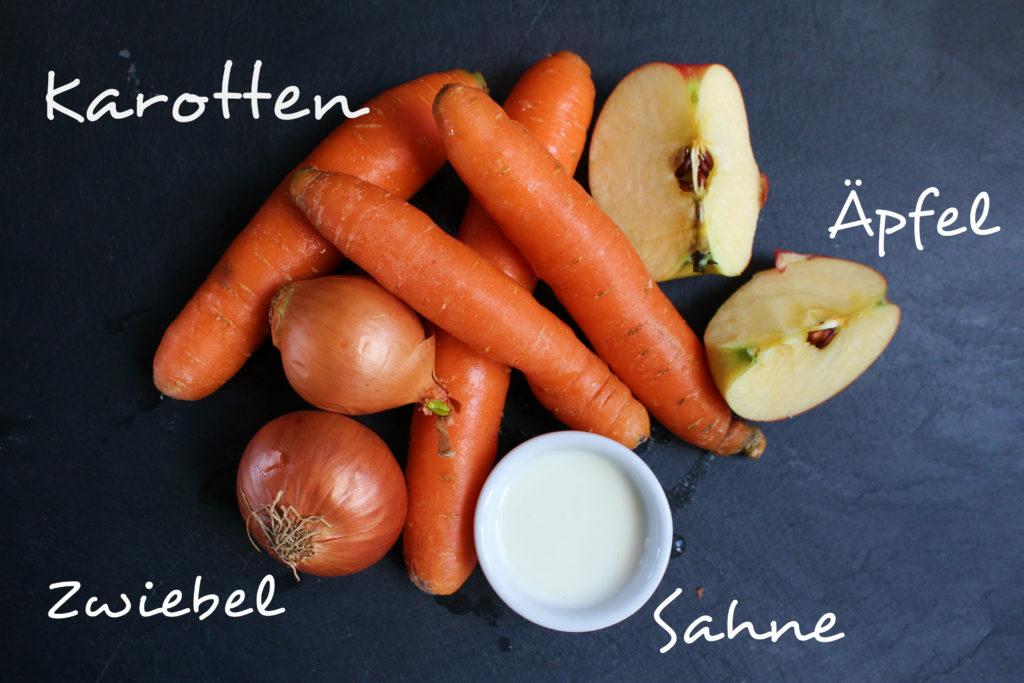Karottensuppe Zutaten