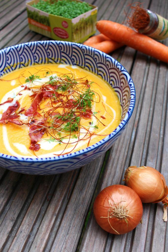 Karotten Apfel Suppe