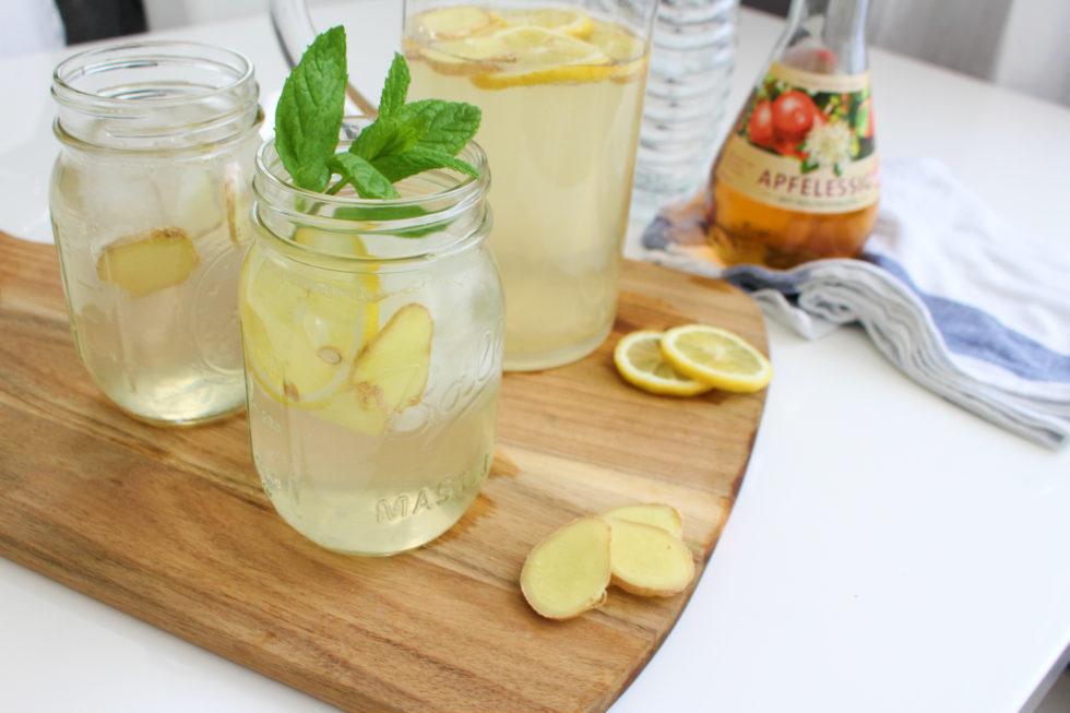 Switchel – Holunder Essig Limonade