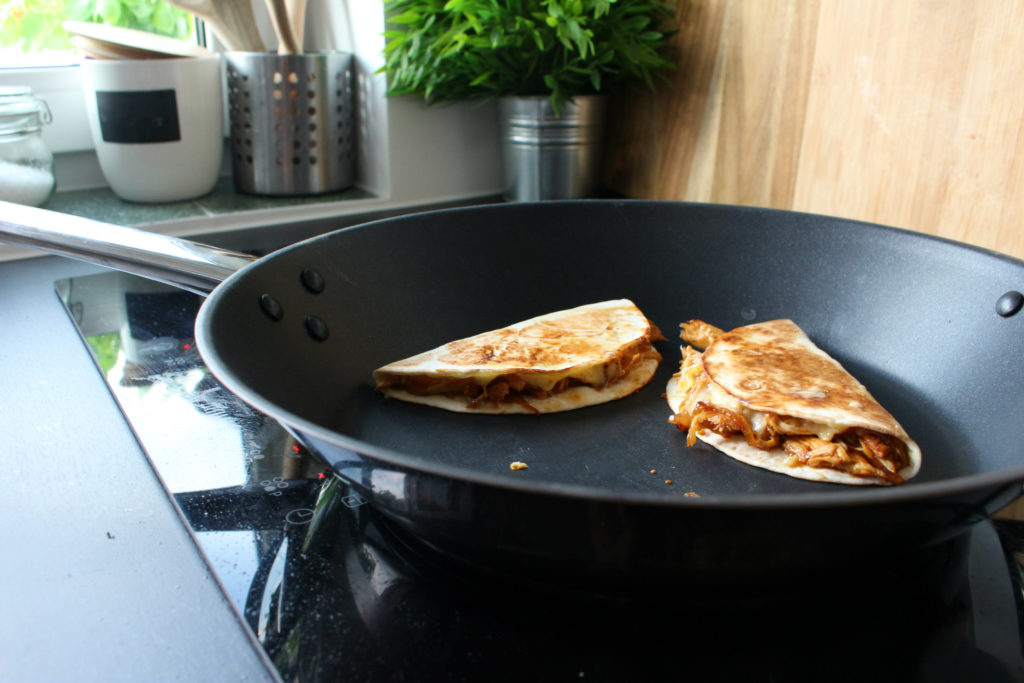 Pulled Chicken Quesadilla