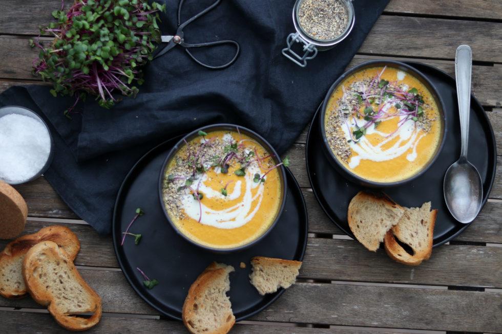 Karotten Mmmmhhhhh-ango Suppe (mit leichter Schärfe)